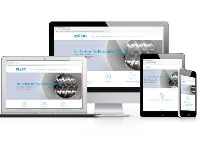 01/18: Die neue Webseite von Knorr Extrusionsmaschinen ist jetzt Online