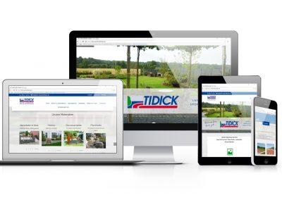 02/18: Neue Internetseite der Firma Tidick Landschaftsbau