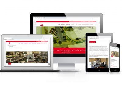 08/18 Neue Website für M-D-M Michael Druyen Maschinenbau