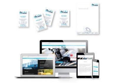 09/18 Neue Website, Visitenkarten und Briefbögen für S-M-S