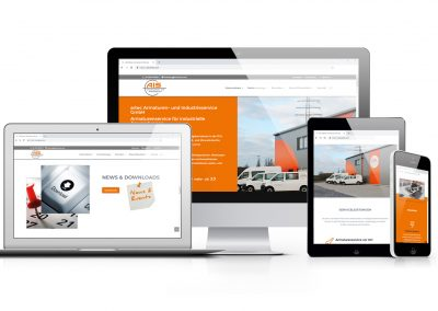 11/18 Neuer Internetauftritt der Firma AIS – artec Armaturen- und Industrieservice