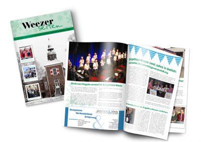 11/18 Neue Ausgabe der Weezer Seiten – pünktlich zur Adventszeit