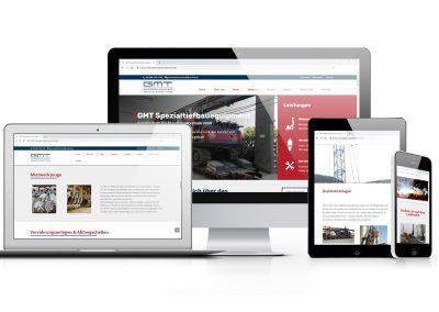 12/18 Die Website unseres Kunden GMT ist online!