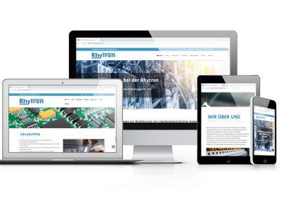 01/19 Neue Website unseres Kunden Rhytron geht online!