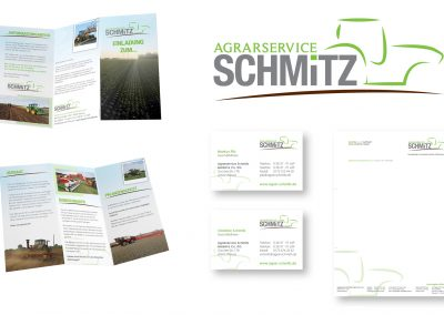 01/19 Corporate Design für Schmitz Agrar