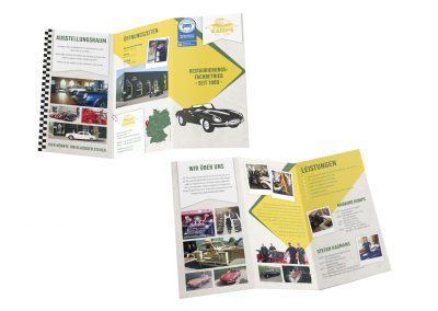 03/19 Flyer für die Kamps Classics GmbH