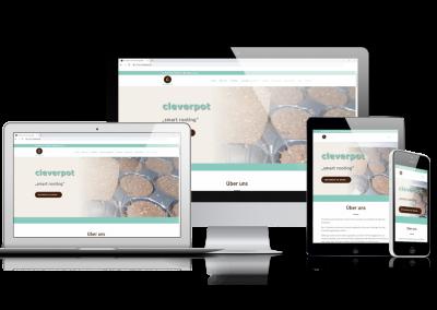 06/19 Neuer Internetauftritt der Firma Cleverpot ist online!