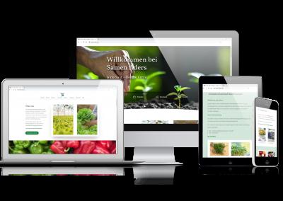 06/20 Die neue Webseite von Samen Aders aus Düsseldorf ist Online!