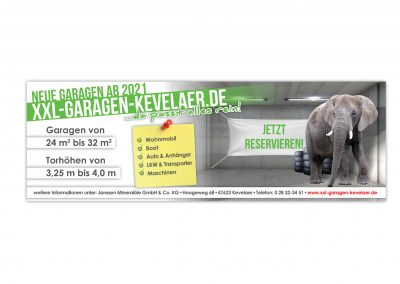 11/20 Banner XXL-Garagen-Kevelaer
